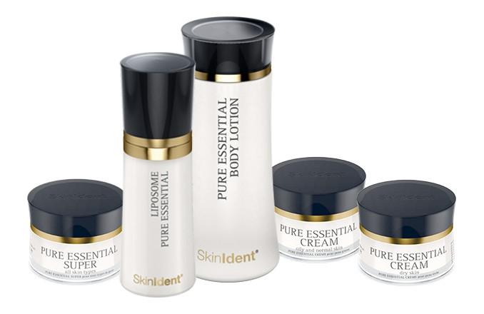 Neue essentielle SkinIdent Produkte