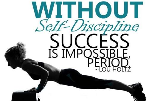 Self-dicipline-LH