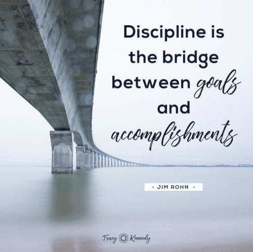 Discipline-is-the-bridge